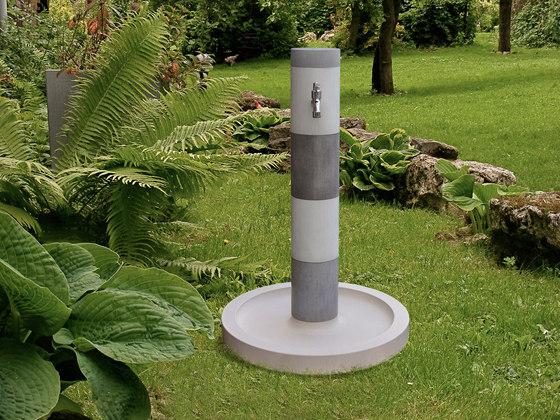 gartenwaschbecken kaya trinkbrunnen von oggi beton architonic. Black Bedroom Furniture Sets. Home Design Ideas
