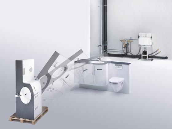 vitessa mit WC-Front geplättelt by talsee