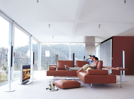 Rolf Benz Dono Lounge Sofas From Rolf Benz Architonic