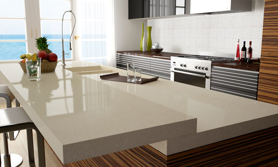 Quartz Nature Botticino Glace di Compac