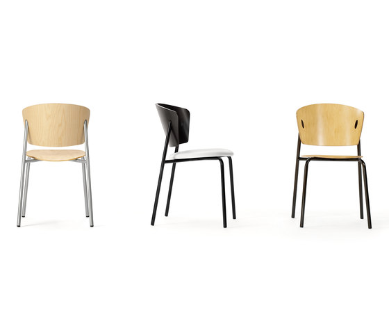 Café Parfait Side Chair by Leland International