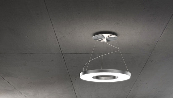 VIVAA RING Suspended Luminaire by H. Waldmann