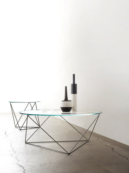 Dia | Glass Coffee Table de Stylex
