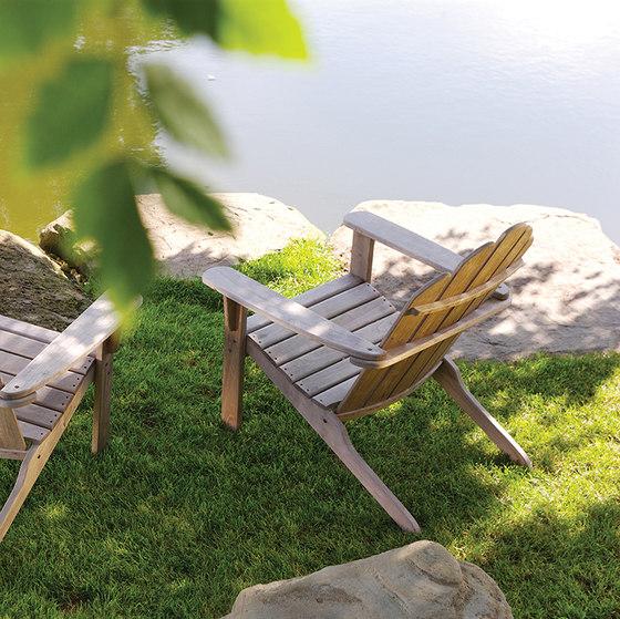 Adirondack Chair + Ottoman de Kingsley Bate