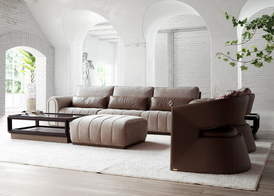 1725 sofa by Tecni Nova