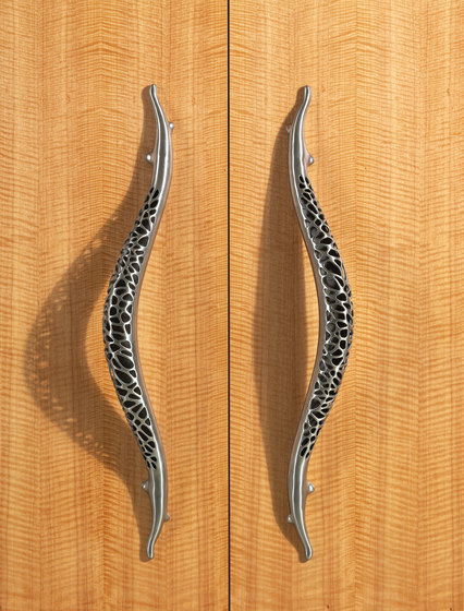 Morphic - Entry Door Handle Lever Set by Martin Pierce Hardware