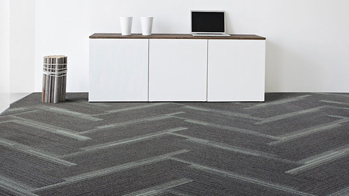Off Line Pewter Cloud by Interface USA