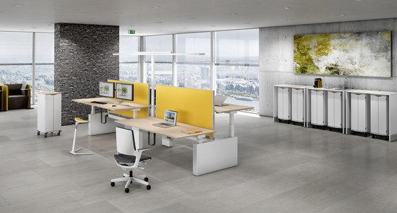Canvaro Compact Schreibtischsystem von Assmann Büromöbel