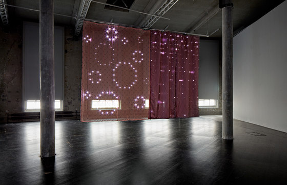 Organza Rombe | Diagonal by Forster Rohner Textile Innovations