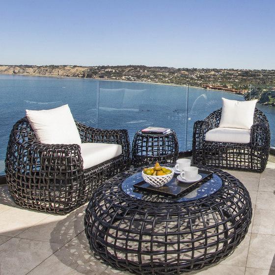 Miami Lounge Chair + Ottoman de Kingsley Bate