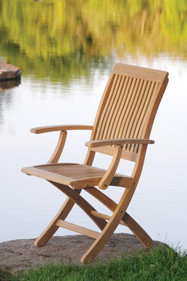Monterey Folding Side Chair by Kingsley Bate
