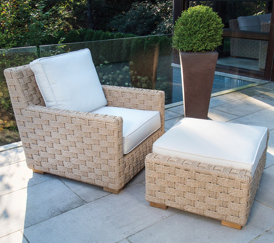 St. Barts Lounge Chair by Kingsley Bate
