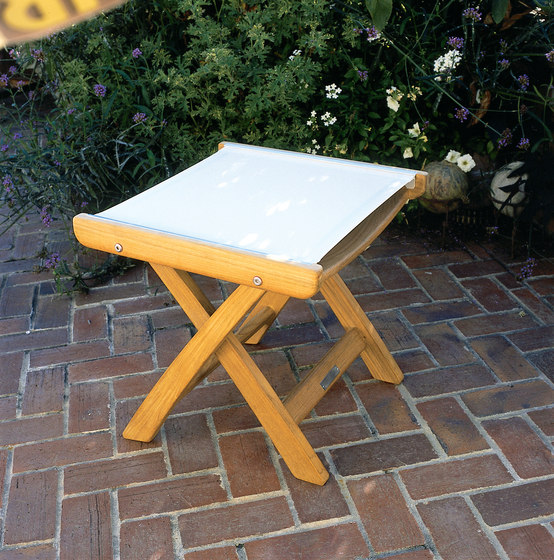 St. Tropez Folding Side Chair by Kingsley Bate