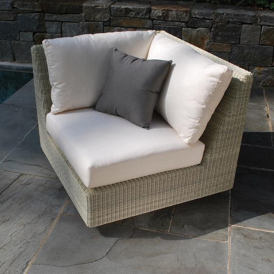 Westport Deep Seating Chair + Ottoman by Kingsley Bate