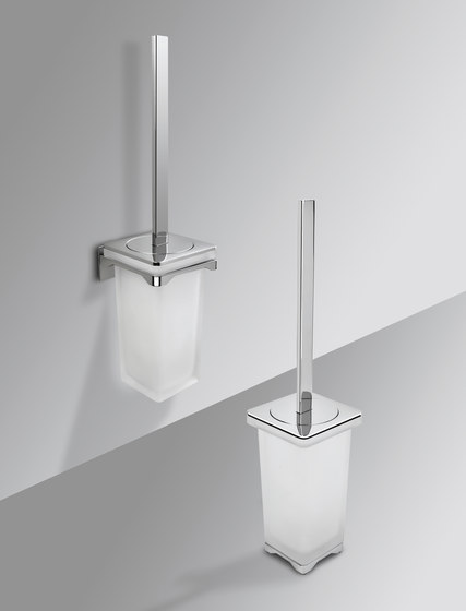 Hanging brush holder by COLOMBO DESIGN