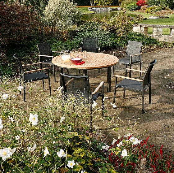 Aura | High Dining Table 140 de Barlow Tyrie