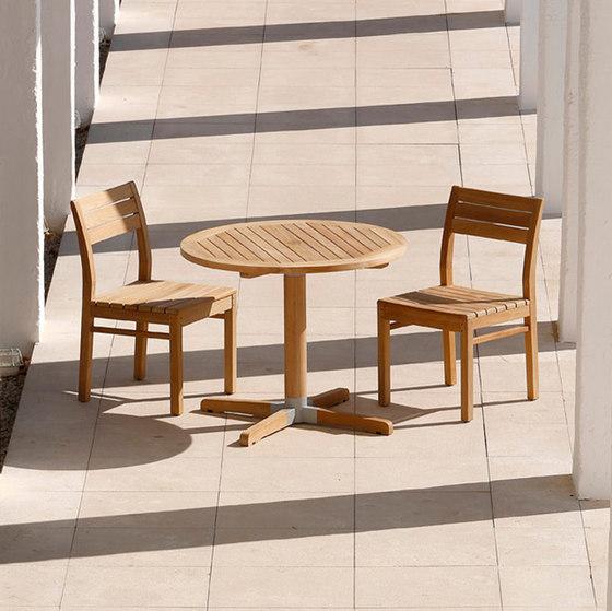 Bermuda | High Dining Table 90 de Barlow Tyrie