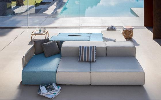 Deauville | Chaises Lounge Composables de Unopiù