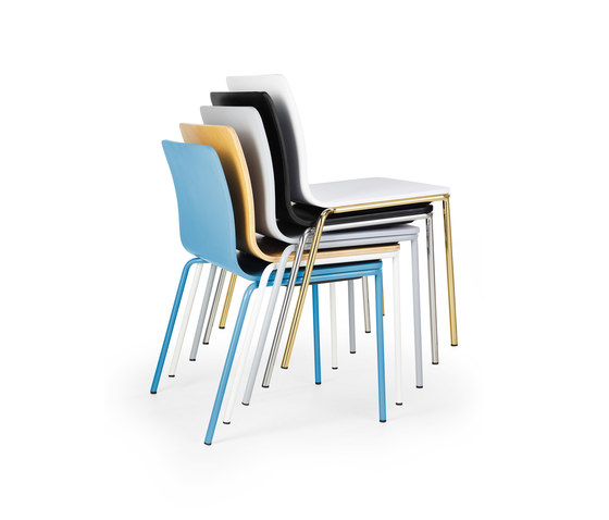 Les Chair blue by Les Basic