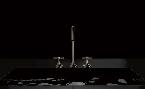 Vaia - Three-hole basin mixer by Dornbracht