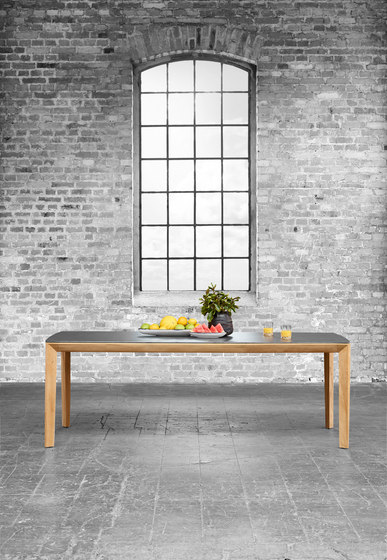 Lodge Dining Table, Ceramic by solpuri
