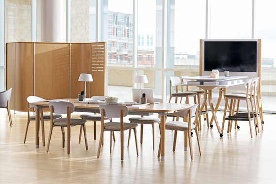 Zones Workshop Tables by Teknion