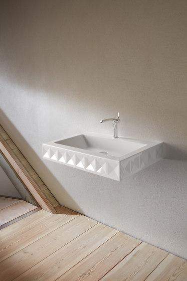 BetteLoft Ornament Wall mounted washbasin de Bette