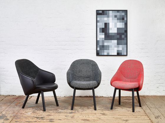 Alba Lounge Armchair by TON