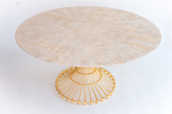 Veracruz Oval Dining Table by Fisher Weisman