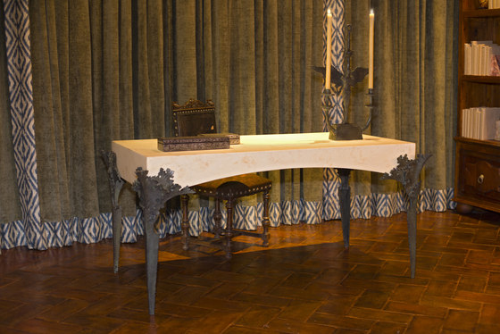 Acanthus Minor Desk by Fisher Weisman