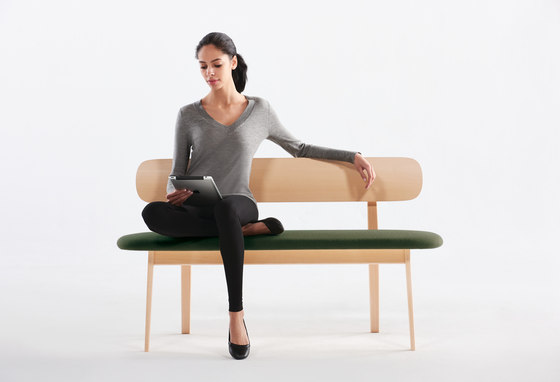 Zones Bench by Teknion
