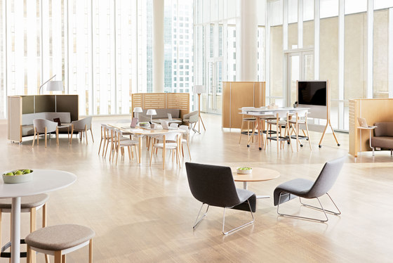 Zones Side Chair by Teknion