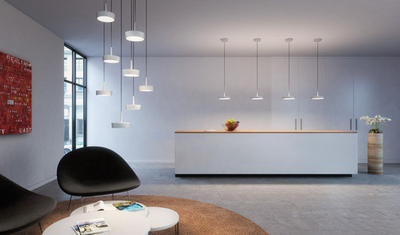 ARVA pendant lamps 140 grey by RIBAG