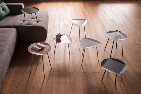 LEITO Tavolino da notte | Tre pezzi di Joval