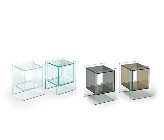 MAGIQUE CUBO bedside table by Fiam Italia