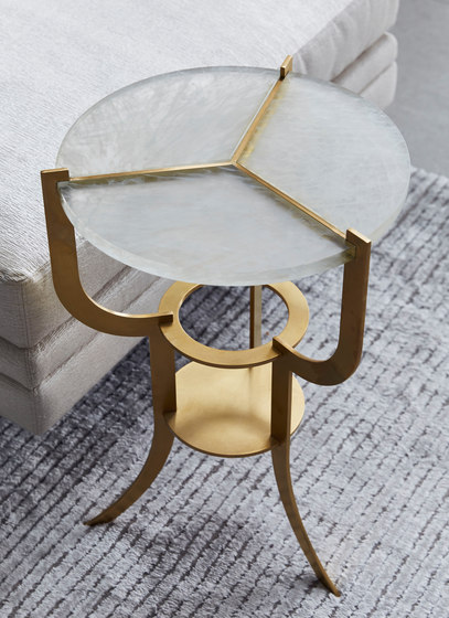 Aria Trifurcated Side Table by Douglas Design Studio