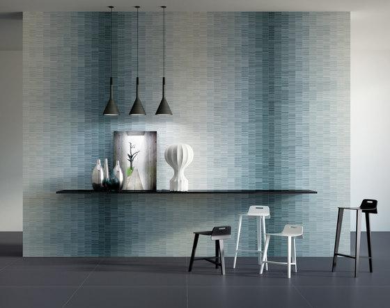 Slimtech I Wave blue a by Lea Ceramiche