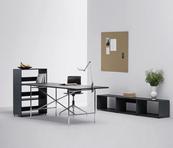 E2 linoleum table by Faust Linoleum