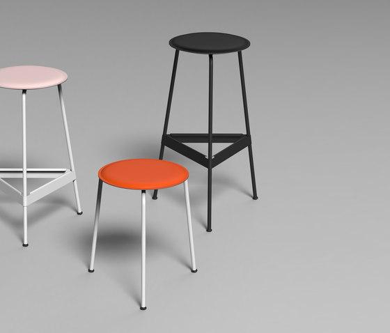 Ravioli stool S de Faust Linoleum