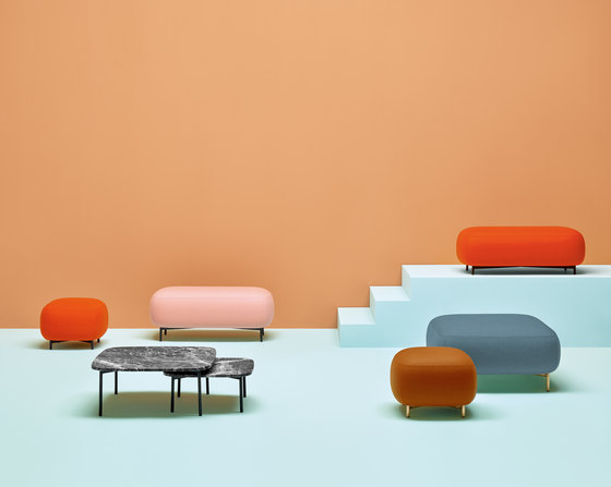 Buddy table 59x59 by PEDRALI