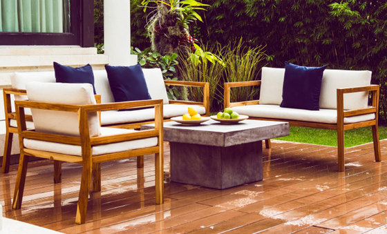 Cali Square Dining Table de Kannoa