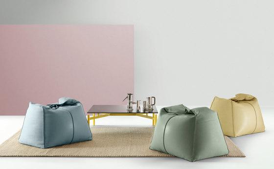 Ed | Tavolino quadrato di My home collection