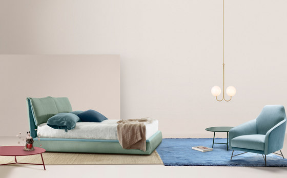 Wilma | Armchair and Ottoman by My home collection
