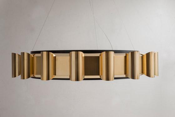 Helios Chandelier de Martin Huxford Studio