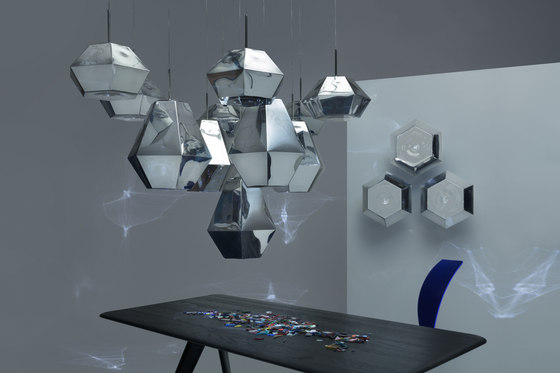 Cut Surface Light Chrome von Tom Dixon
