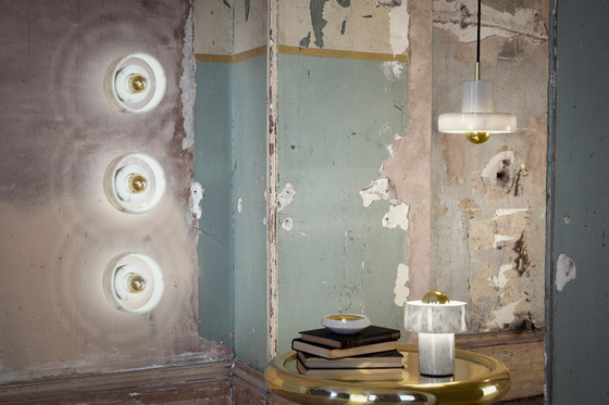 Stone Table Light by Tom Dixon
