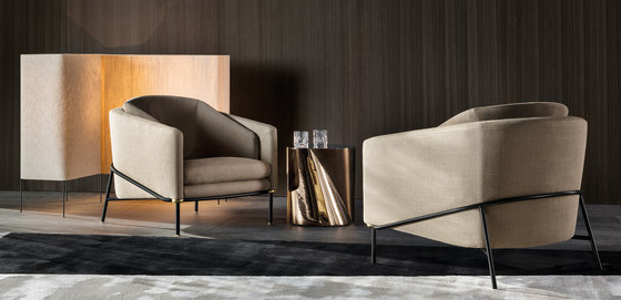 Fil Noir Chair de Minotti