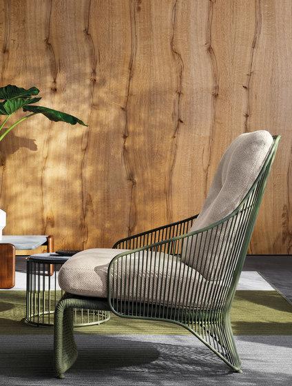 Colette Outdoor Armchair von Minotti