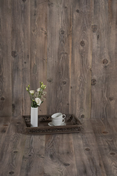 Indewo® Wood | Antique Spruce Hütte silver gray by europlac