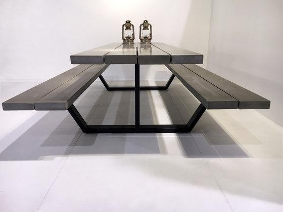 Cassecroute Table Concrete de CASSECROUTE